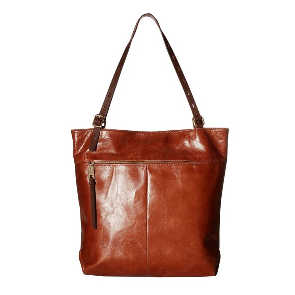 3384dcc3fa03b HOBO Bags | Lennon Leather Tote In Russet | Poshmark